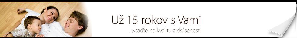 Novaparket - Už 15 rokov s Vami!